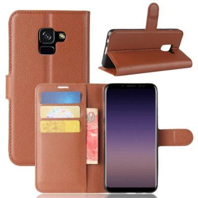 Samsung Galaxy A8 (2018) Suojakotelo Ruskea