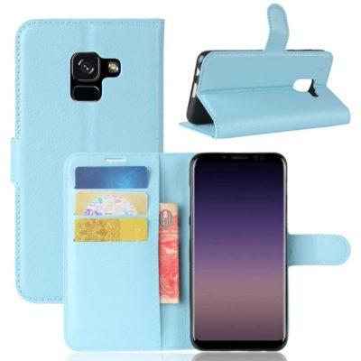 Samsung Galaxy A8 (2018) Suojakotelo Sininen