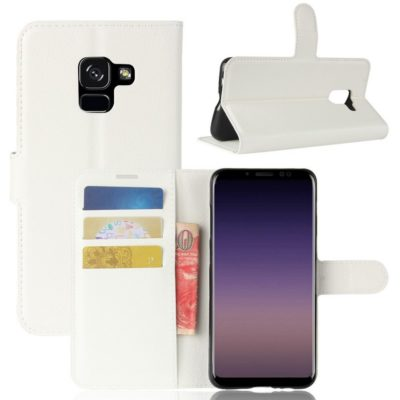 Samsung Galaxy A8 (2018) Suojakotelo Valkoinen