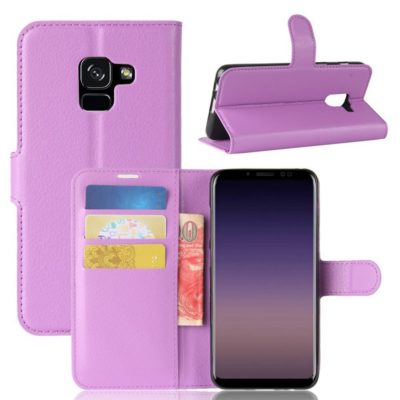 Samsung Galaxy A8 (2018) Suojakotelo Violetti