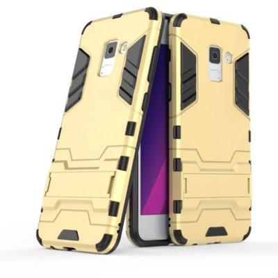 Samsung Galaxy A8 (2018) Suojakuori Kulta