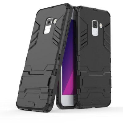 Samsung Galaxy A8 (2018) Suojakuori Musta