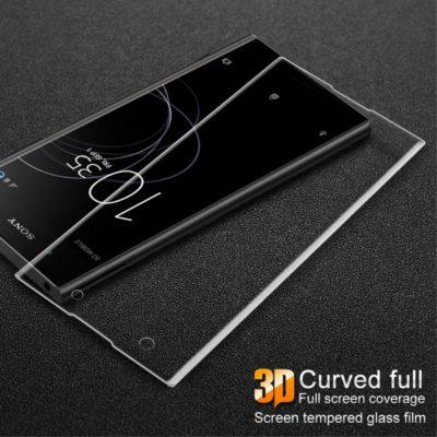 Sony Xperia XA1 Plus Täysin Peittävä Suojalasi Kirkas