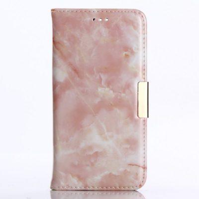 Huawei Honor 9 Suojakotelo Marmori Vaaleanpunainen