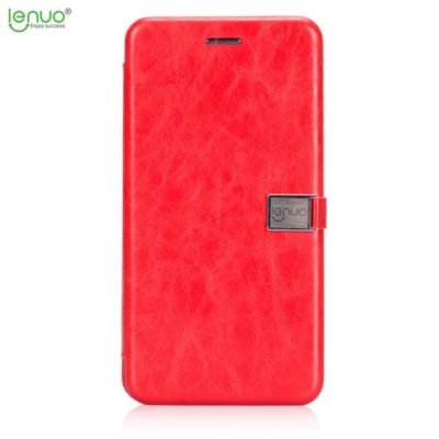 Huawei Mate 10 Lite Kotelo LENUO Punainen