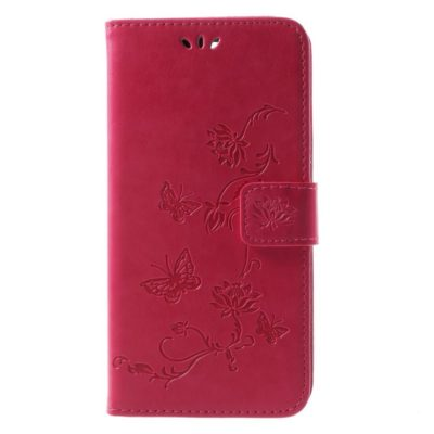 Huawei Mate 10 Lite Suojakotelo Perhonen Pinkki