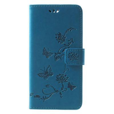 Huawei Mate 10 Lite Suojakotelo Perhonen Sininen