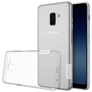 Samsung Galaxy A8 (2018) Suojakuori Nillkin Läpinäkyvä