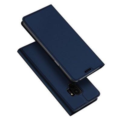 Samsung Galaxy S9 Kotelo Dux Ducis Tummansininen