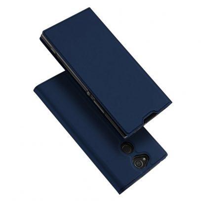 Sony Xperia XA2 Kotelo Dux Ducis Tummansininen