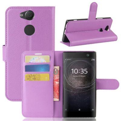 Sony Xperia XA2 Lompakkokotelo Violetti