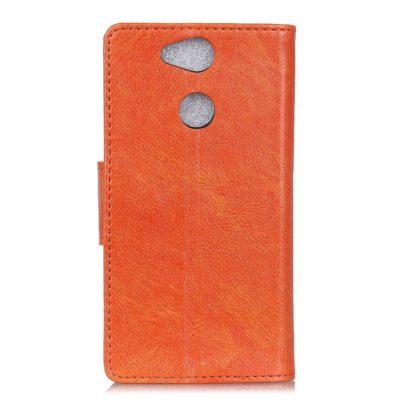 Sony Xperia XA2 Nahkakotelo Oranssi