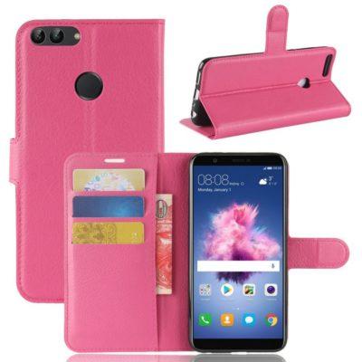 Huawei P Smart Lompakkokotelo Pinkki