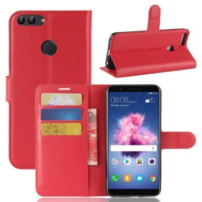 Huawei P Smart Lompakkokotelo Punainen