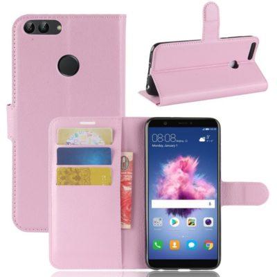 Huawei P Smart Lompakkokotelo Vaaleanpunainen