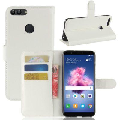 Huawei P Smart Lompakkokotelo Valkoinen