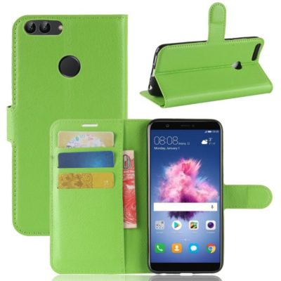 Huawei P Smart Lompakkokotelo Vihreä