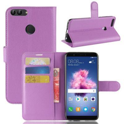 Huawei P Smart Lompakkokotelo Violetti