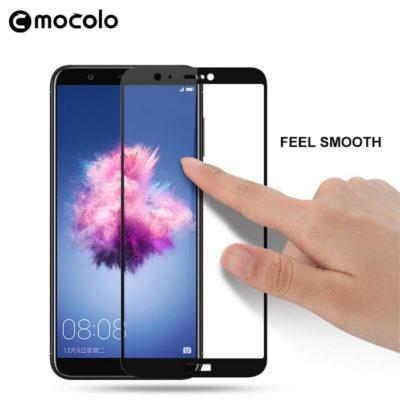 Huawei P Smart Täysin Peittävä Panssarilasi Musta