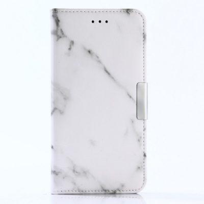Huawei P10 Lite Suojakotelo Marmori Valkoinen