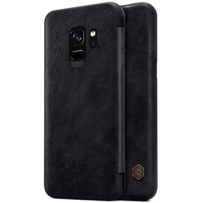 Samsung Galaxy S9 Kotelo Nillkin Qin Musta
