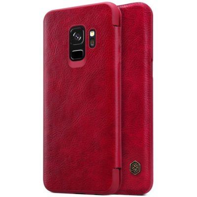 Samsung Galaxy S9 Kotelo Nillkin Qin Punainen