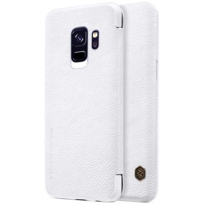 Samsung Galaxy S9 Kotelo Nillkin Qin Valkoinen