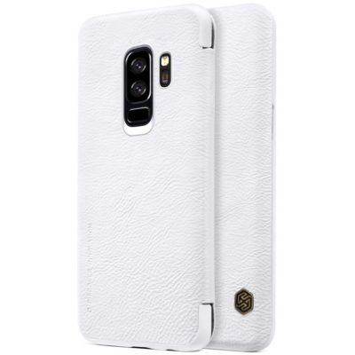 Samsung Galaxy S9+ Kotelo Nillkin Qin Valkoinen