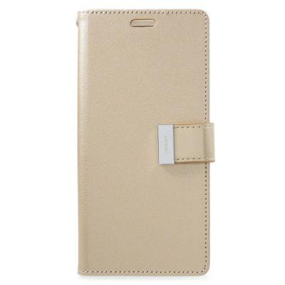 Samsung Galaxy S9+ Kotelo Rich Diary Kulta