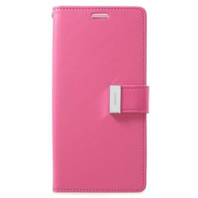 Samsung Galaxy S9+ Kotelo Rich Diary Pinkki