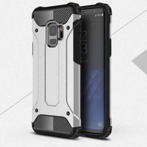 Samsung Galaxy S9 Suojakuori 2-osainen Hopea