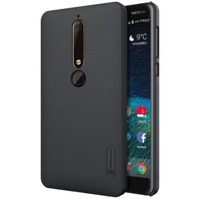 Nokia 6 (2018) Suojakuori Nillkin Frosted Musta