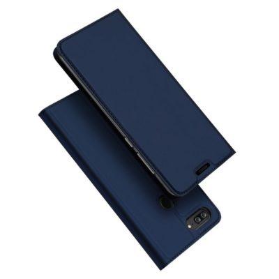 Huawei Honor 9 Lite Kotelo Dux Ducis Tummansininen
