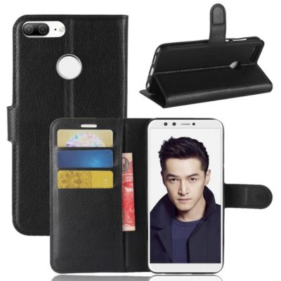 Huawei Honor 9 Lite Lompakkokotelo Musta