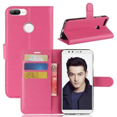 Huawei Honor 9 Lite Lompakkokotelo Pinkki
