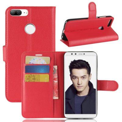 Huawei Honor 9 Lite Lompakkokotelo Punainen