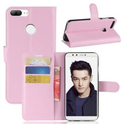 Huawei Honor 9 Lite Lompakkokotelo Vaaleanpunainen