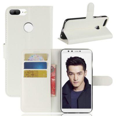 Huawei Honor 9 Lite Lompakkokotelo Valkoinen