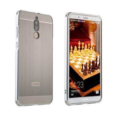 Huawei Mate 10 Lite Bumper Metalli Harmaa