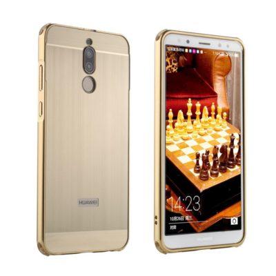 Huawei Mate 10 Lite Bumper Metalli Kulta