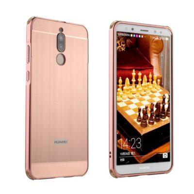 Huawei Mate 10 Lite Bumper Metalli Ruusukulta