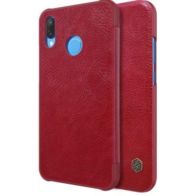 Huawei P20 Lite Kotelo Nillkin Qin Punainen