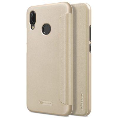 Huawei P20 Lite Kotelo Nillkin Sparkle Kulta