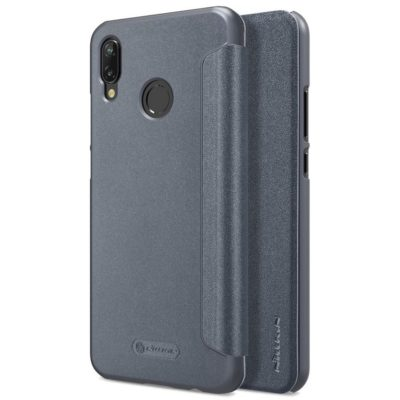 Huawei P20 Lite Kotelo Nillkin Sparkle Musta