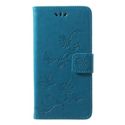 Huawei P20 Lite Suojakotelo Kukka Sininen