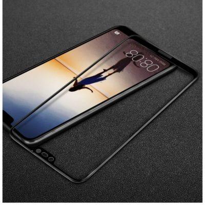 Huawei P20 Lite Täysin Peittävä Suojalasi Musta