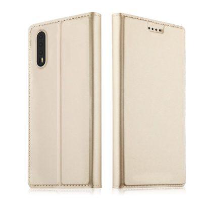 Huawei P20 Pro Kannellinen Suojakotelo Kulta