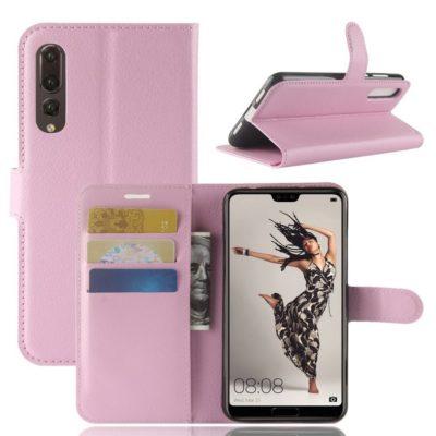 Huawei P20 Pro Suojakotelo Vaaleanpunainen Lompakko