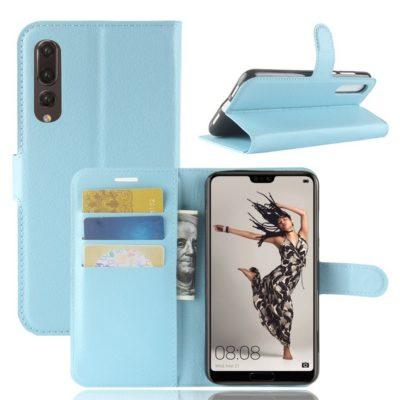 Huawei P20 Pro Suojakotelo Vaaleansininen Lompakko
