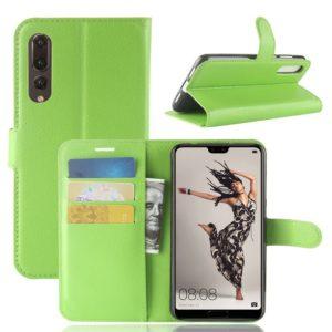 Huawei P20 Pro Suojakotelo Vihreä Lompakko